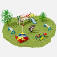 Детские игровые площадки производства ООО «СКИФ»