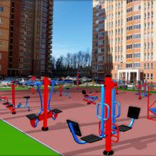 Уличные тренажеры в Перми