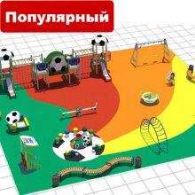 Детские игровые площадки производства ООО «АТРИКС»